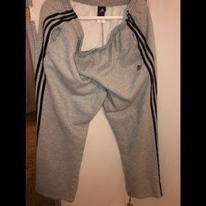 Adidas sweat pants size xl